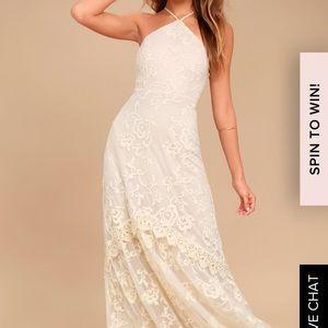Lulu's Lace Formal Dress